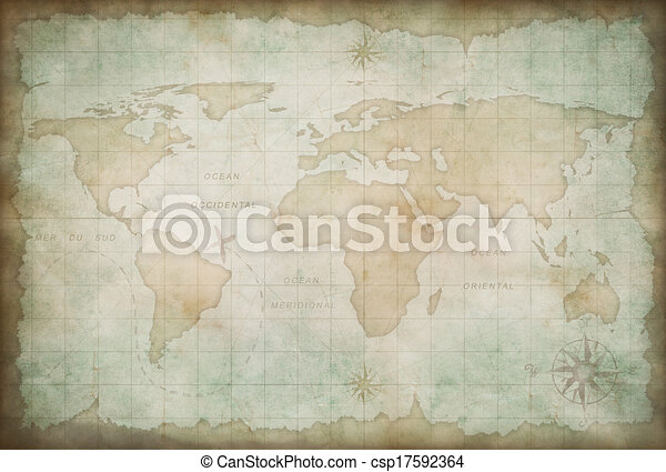 old world map background csp17592364