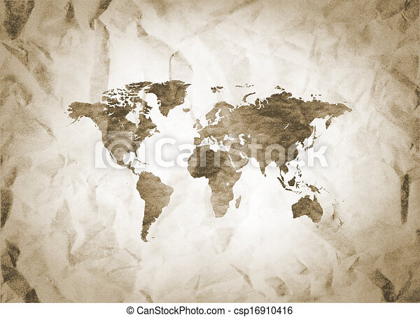 Old world map clipart search illustration drawings and vector eps old world map csp16910416 gumiabroncs Images