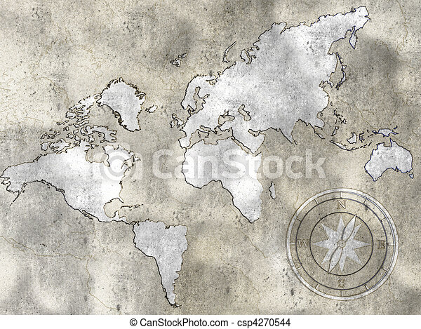 Old world map background can use the internet print drawing old world map csp4270544 gumiabroncs Gallery