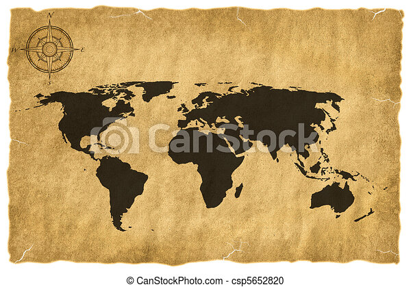 Old world map stock illustration search clipart drawings and old world map csp5652820 gumiabroncs Images