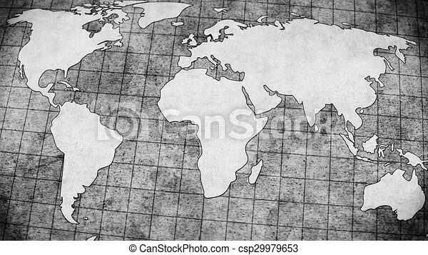 Old world map grey illustration old world map grey illustration gumiabroncs Images