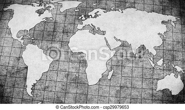 Old world map grey illustration stock illustrations search clipart old world map grey illustration gumiabroncs Choice Image