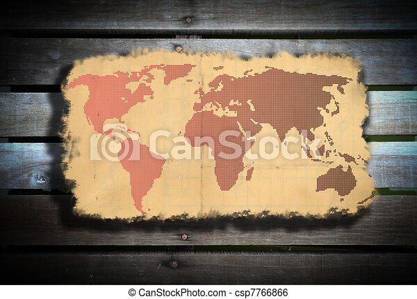 Old world map old world map stock illustration search clip art old world map csp7766866 gumiabroncs Images