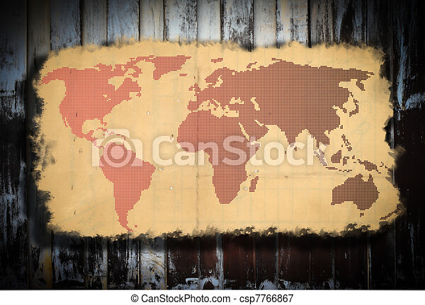 Old world map old world map stock illustrations search eps old world map csp7766867 gumiabroncs Image collections