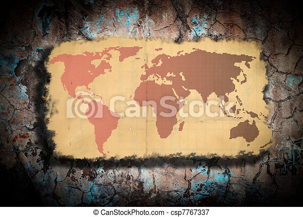 Old world map old world map stock illustrations search eps old world map csp7767337 gumiabroncs Choice Image