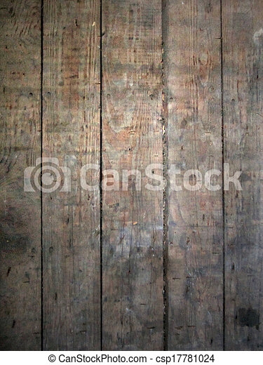 Old worn wooden surface - csp17781024