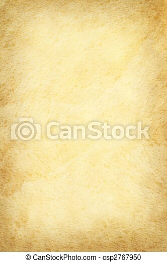 Old yellow paper background - csp2767950
