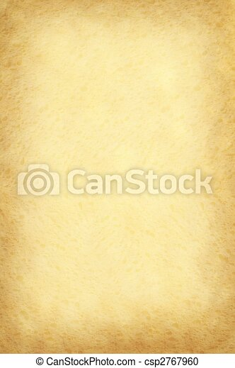 Old yellow paper background - csp2767960