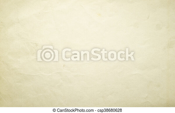 old yellow paper texture background - csp38680628