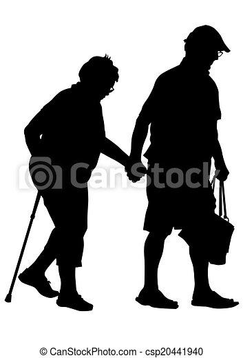 Old people logo