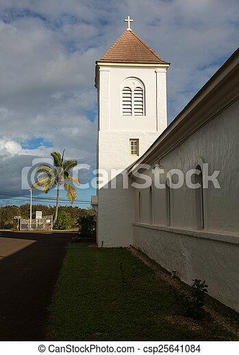 Oldest Catholic church on Kauai - csp25641084