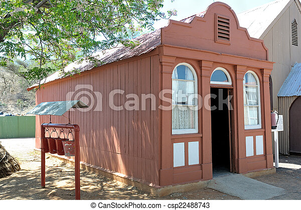 Oldest house in Kimberley  - csp22488743