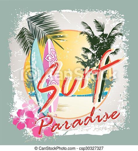 El paraíso del surf - csp30327327