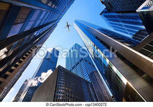 olhar, chicago - csp13400272