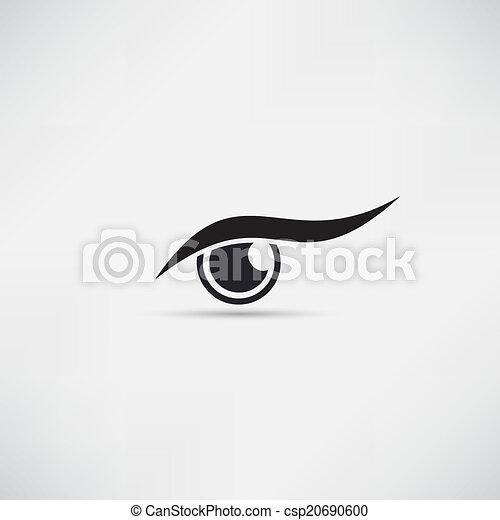 olho, ícone - csp20690600