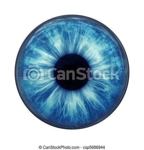 olho azul - csp5686944