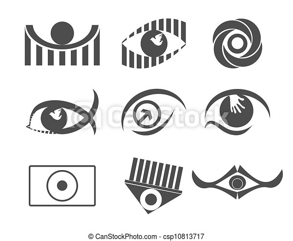 olho, desenho - csp10813717