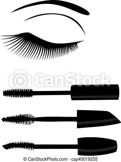 olho, mascara - csp40019255