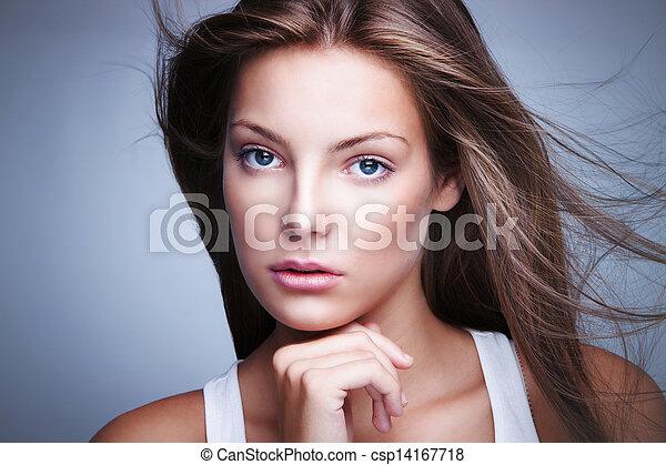 olhos azuis - csp14167718