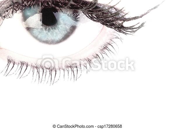 olhos - csp17280658