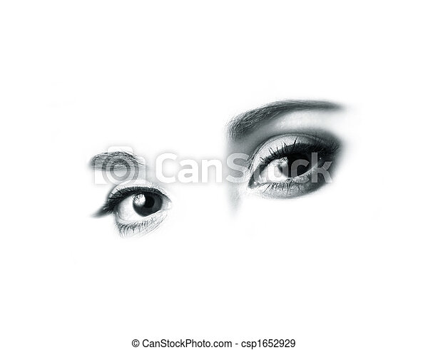 olhos bonitos - csp1652929