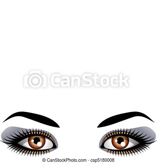 olhos, femininas - csp5180008