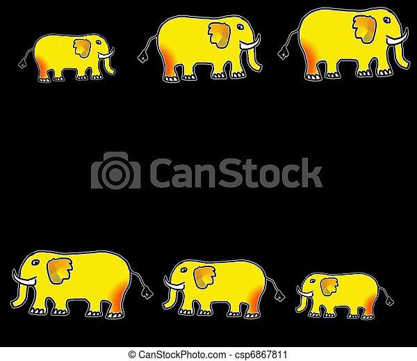olifanten - csp6867811
