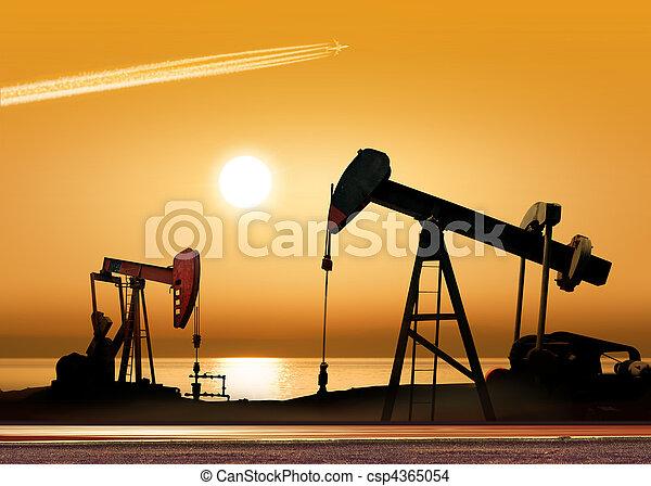 olio, lavorativo, pompe - csp4365054