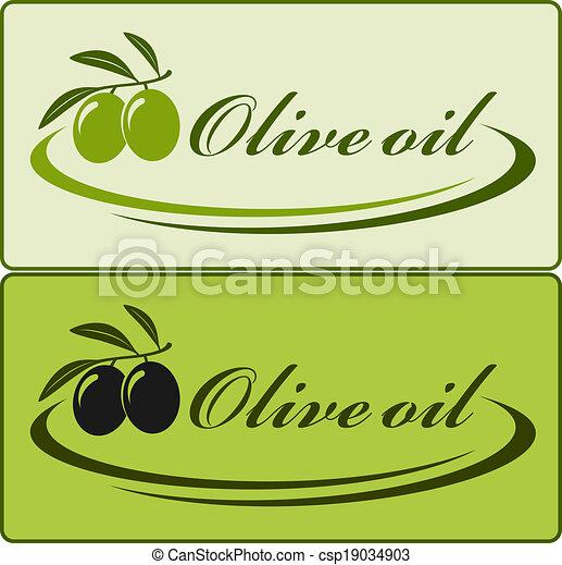 olio oliva, etichetta - csp19034903
