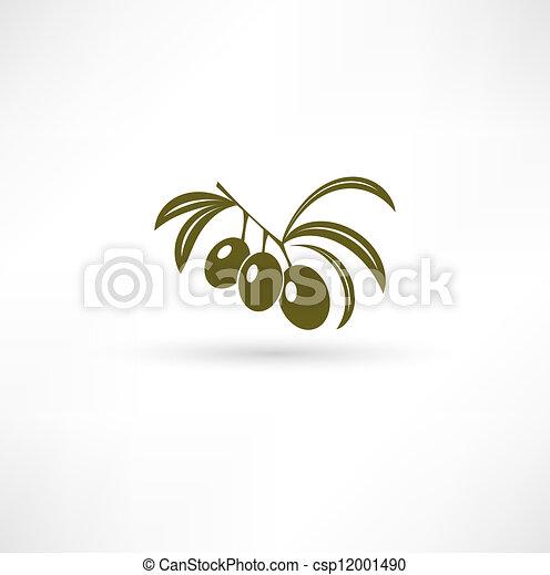 Olive icon - csp12001490