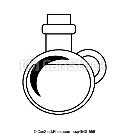 Olive Oil Bottle Isolated Icon Vector Illustration Design Clipart Rh Canstockphoto Com Oyl Coloring Pages Brutus