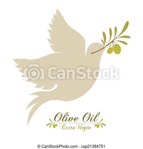 Olive oil design - csp21384751