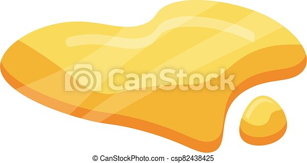 Olive oil icon, isometric style - csp82438425
