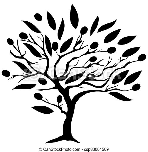 olive tree vector olive tree vector clipart search illustration rh canstockphoto com  olive tree silhouette clip art