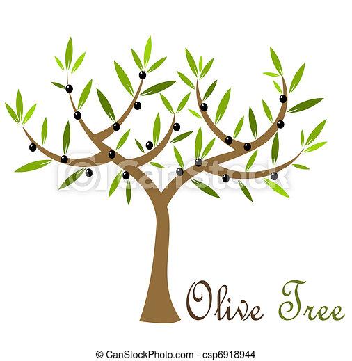 olivier olives arbre illustration vecteur olive noire. Black Bedroom Furniture Sets. Home Design Ideas