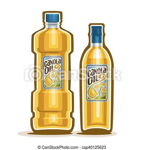 Olja Flaskor Ren Canola Canola Naturlig Gul Mössa Organisk