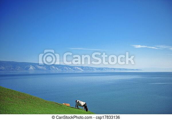 Olkhon island, Russia - csp17833136
