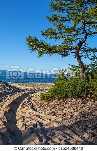 Olkhon Island - csp24688440