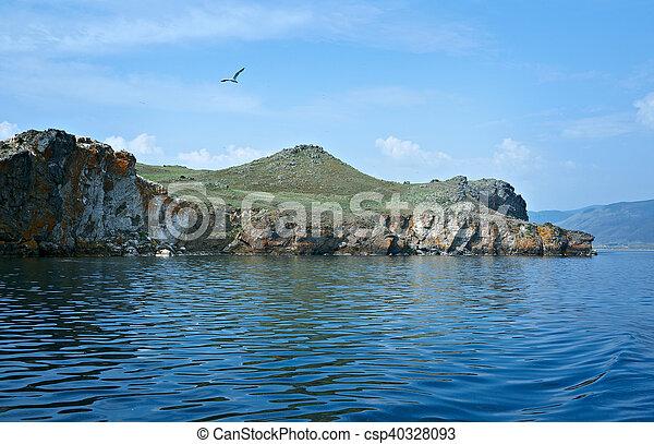 Olkhon island - csp40328093