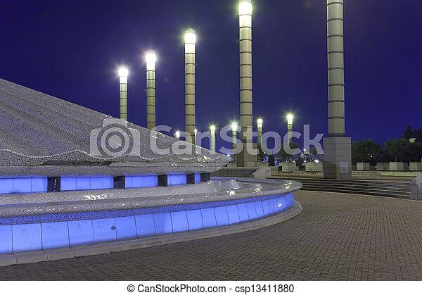 Olympic Stadium in Barcelona - csp13411880
