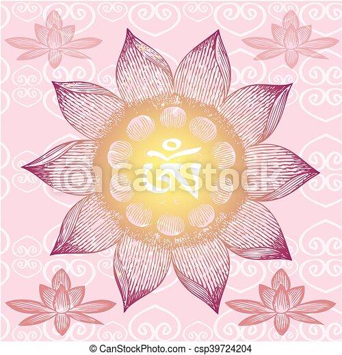 Om designlotus flower mightylinksfo