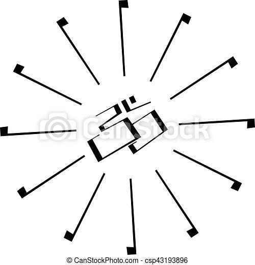 Om Indische Symbol Zeichen Om Symbol Freigestellt Zeichen