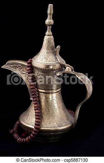 Omani coffee pot - csp5887130