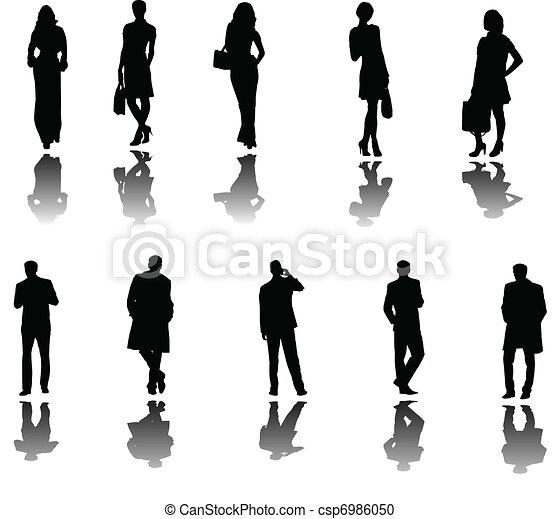 ombre, professionnels - csp6986050