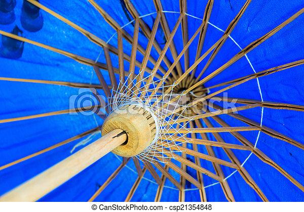 ombrello, fatto mano - csp21354848