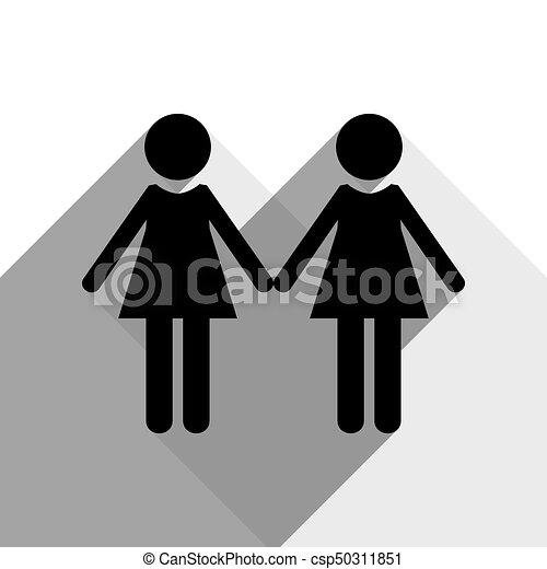 Noir Bureau lesbiennes