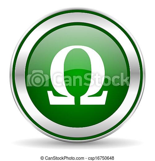 omega icon - csp16750648