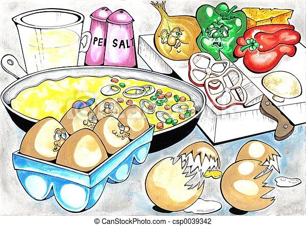 omelette - csp0039342