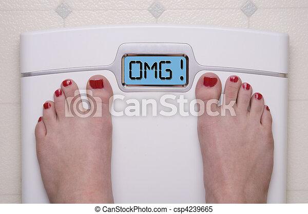 OMG Scale - csp4239665