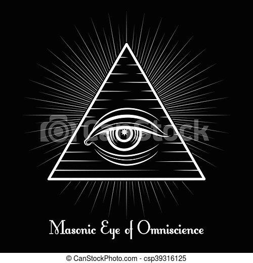Omniscience All Seeing Eye Symbol